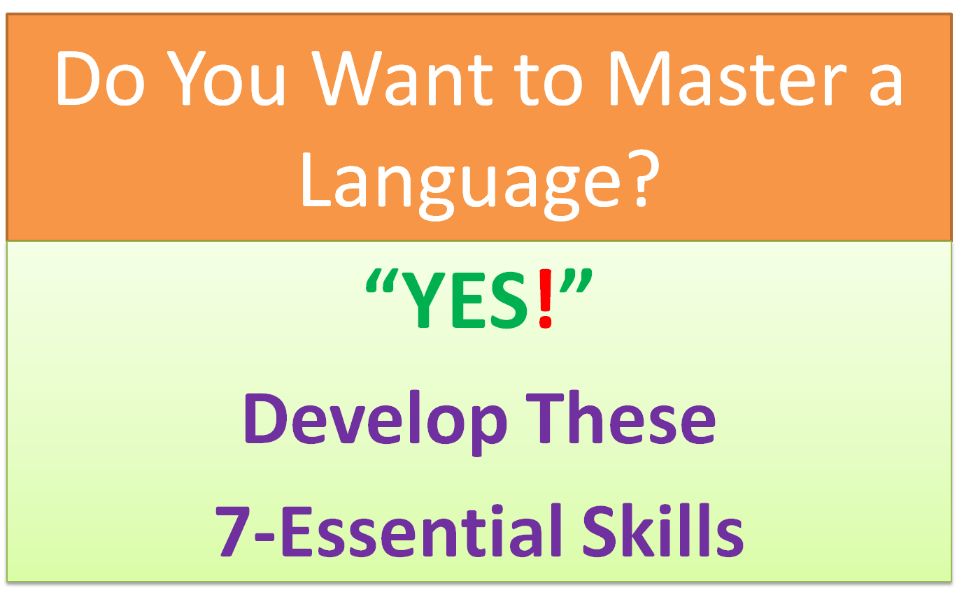 7 Most Essential Skills Required to Learn a Language